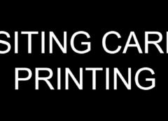 Visiting Card Printing in Rohini Delhi