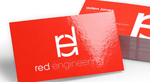 Glossy Visiting Cards Printing