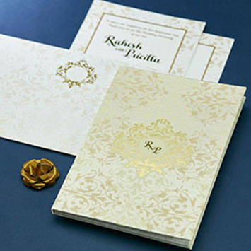 Grand & Royal Wedding Cards